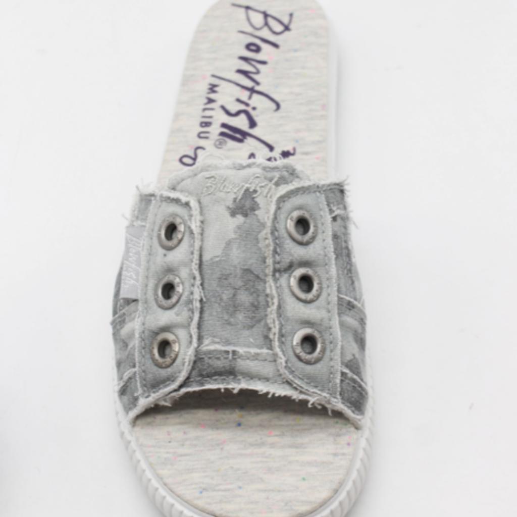 Blowfish Gray Splatter Fresco Blowfish Sandals (6-11)