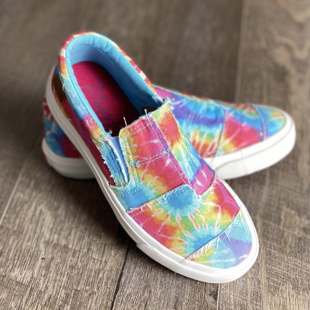 Blowfish Kids Maddox Hippie Tie Dye Blowfish Shoes (Y5 Only)