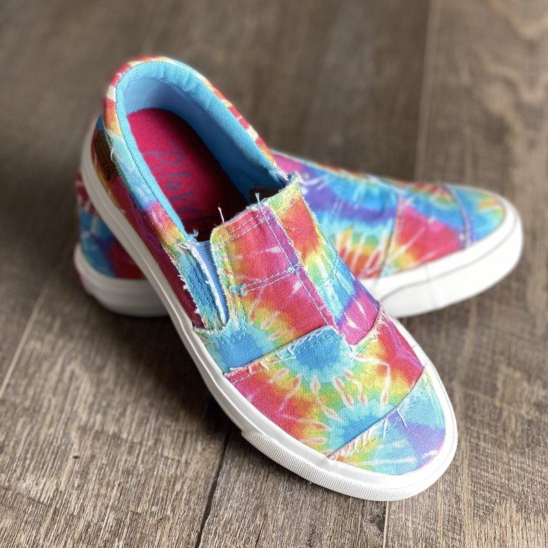 Blowfish Kids Maddox Hippie Tie Dye Blowfish Shoes (13-5)