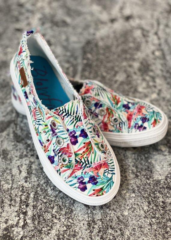 Blowfish White Hibiscus Blowfish Shoes (6-11)