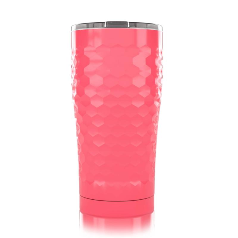 SIC SIC Pink Dimpled Golf 20oz Tumbler