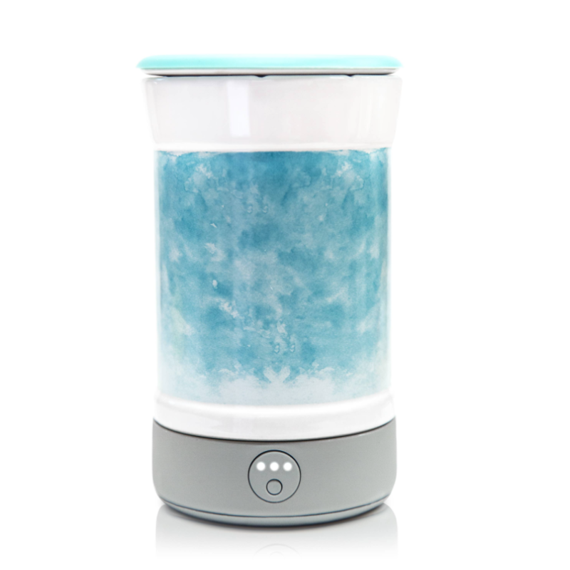 Happy Wax Happy Wax Watercolor Blue Wax Warmer