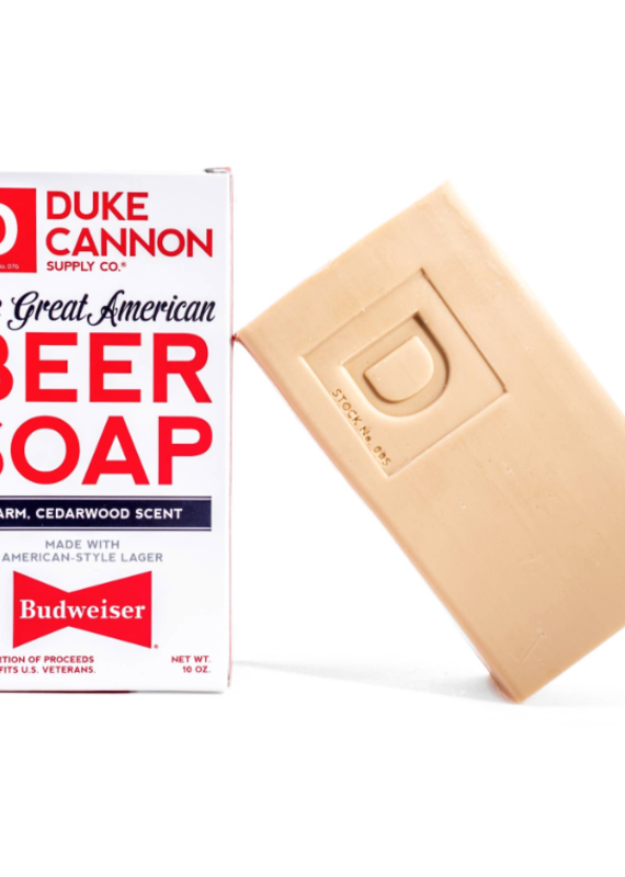 Duke Cannon Duke Cannon Great American Budweiser Beer Soap