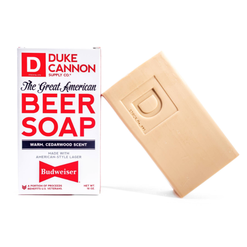 Duke Cannon Duke Cannon Great American Budweiser Beer Soap