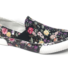 Very G Very G Roxanne Black Floral Shoes (6-11)