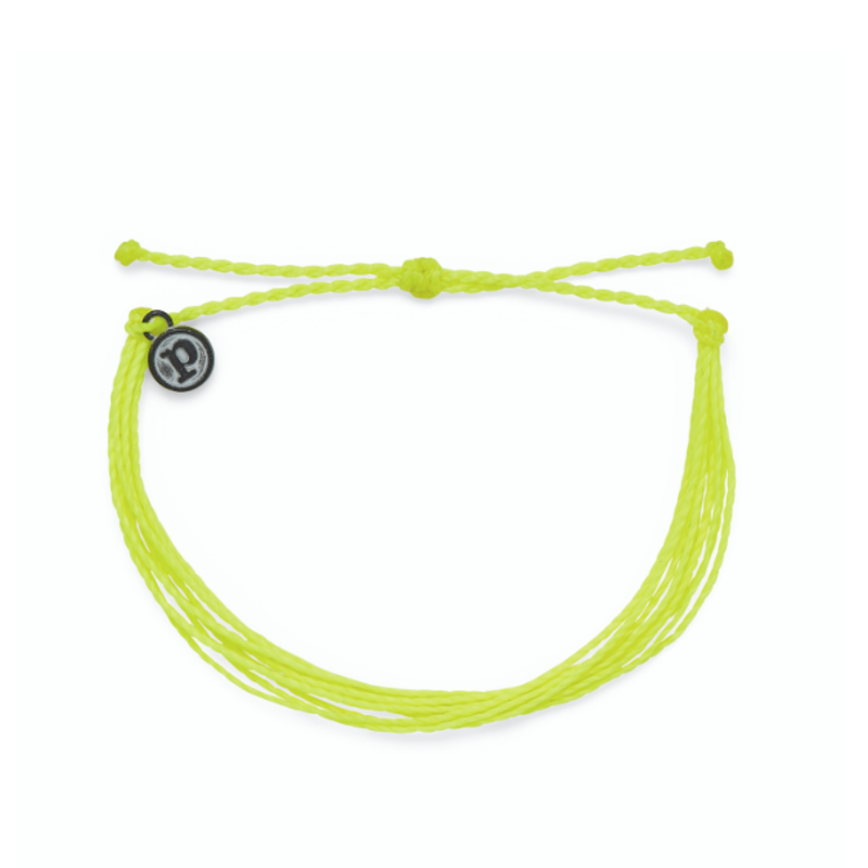 Puravida Pura Vida Neon Yellow Bracelet