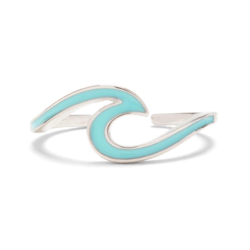 Puravida Pura Vida Aqua Wave Toe Ring