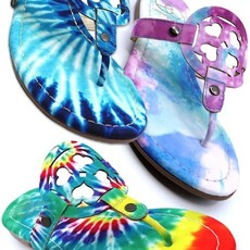 Miami Shoe Tie Dye Sandals (6-10)