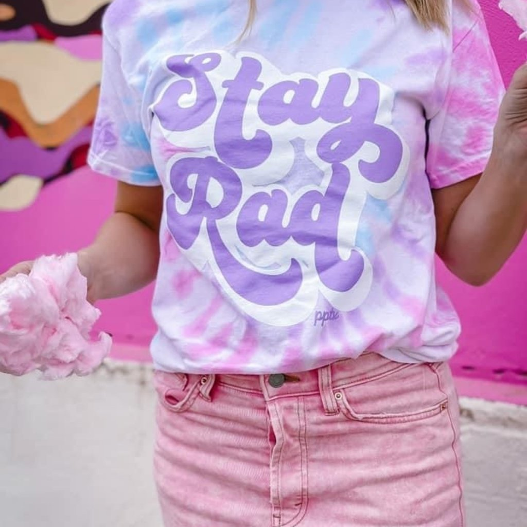 Color Tone Stay Rad Cotton Candy Tee (S-3XL)