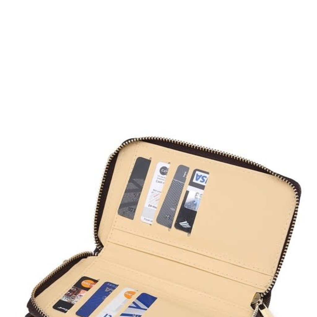 Bag Boutique Inspired Wallet with Phone Pocket (5 Colors)