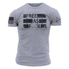 Grunt Style Grunt Style Unisex Free as F*ck Tee (S-3XL)