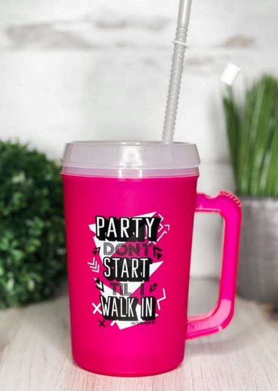 Southern Bliss Co Party Don't Start 22oz Mug