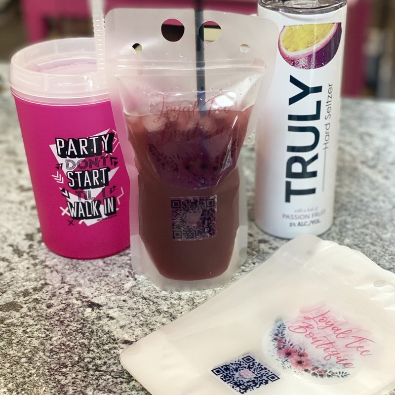 LTB Loyal Tee Boutique Drink Pouches