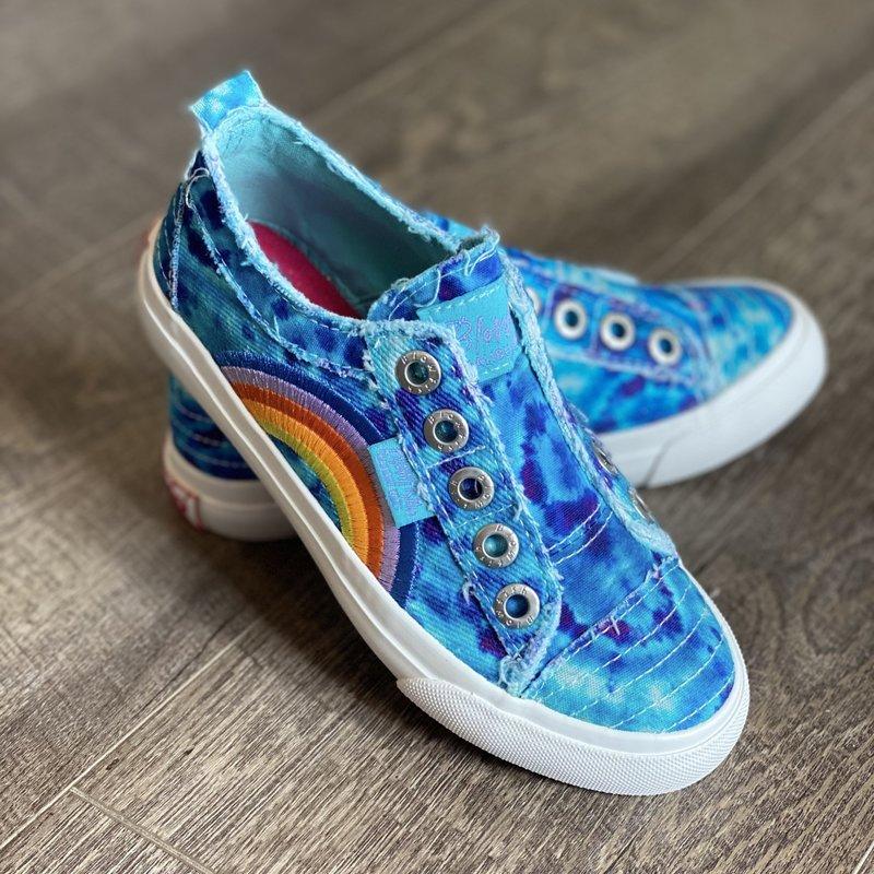 Blowfish Kids Turquoise Play Tie Dye Blowfish Shoes (13-5)
