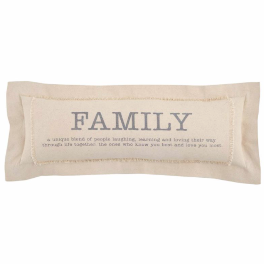 Mud Pie Mud Pie Family Definition Pillow