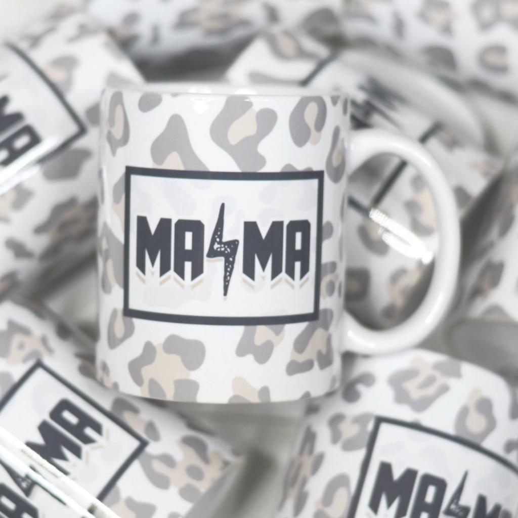 Mugsby Mama Leopard Lightning Mug