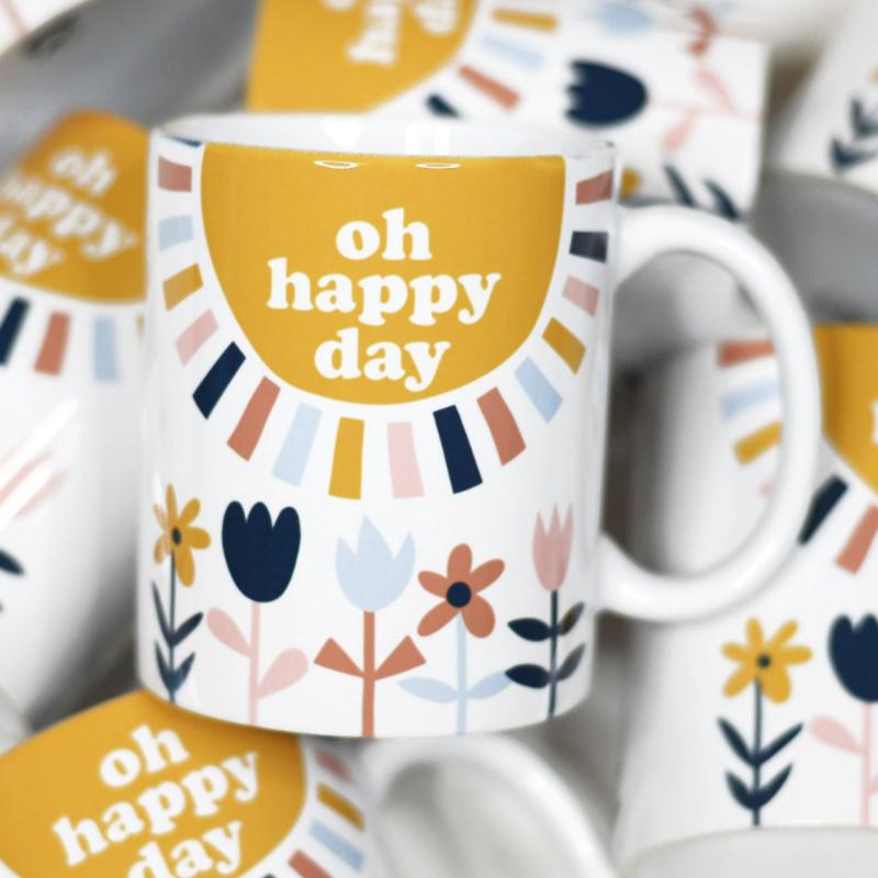 Mugsby Oh Happy Day Mug