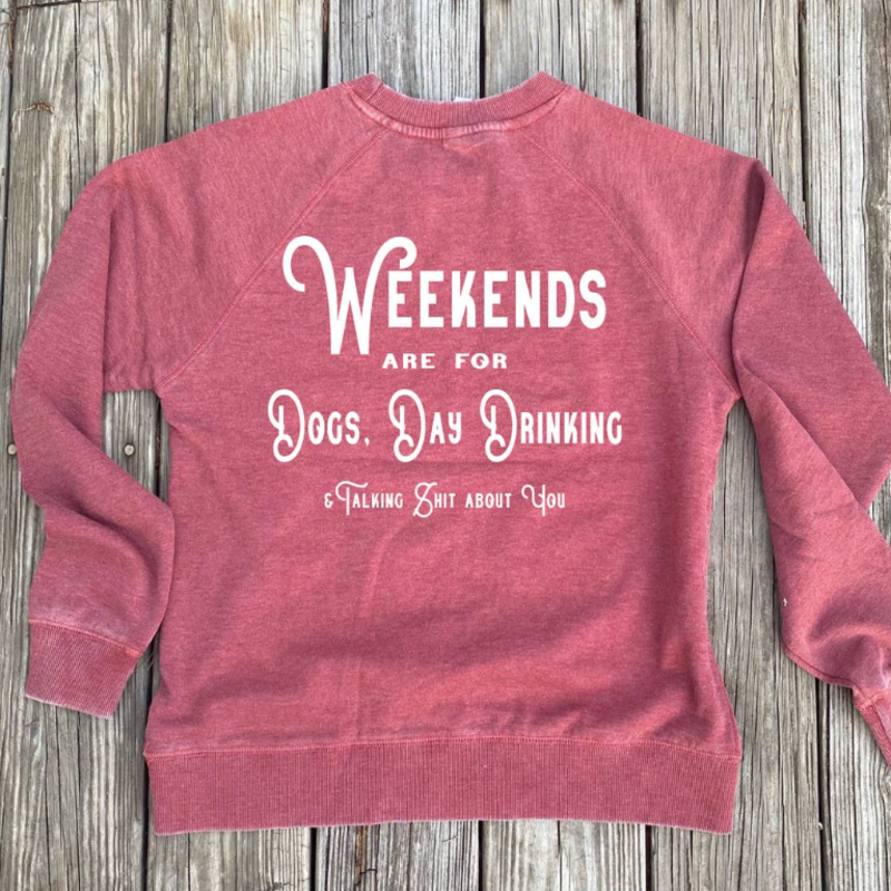 Outdoor Beerdsman Weekends are for Dogs & Talking Shit (S-2XL)