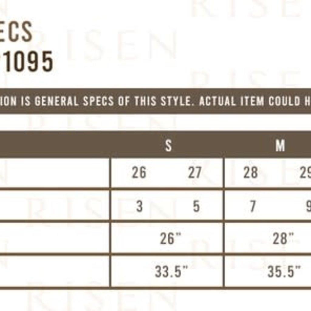 Risen Denim Black Risen Distressed Shorts (S-3XL)