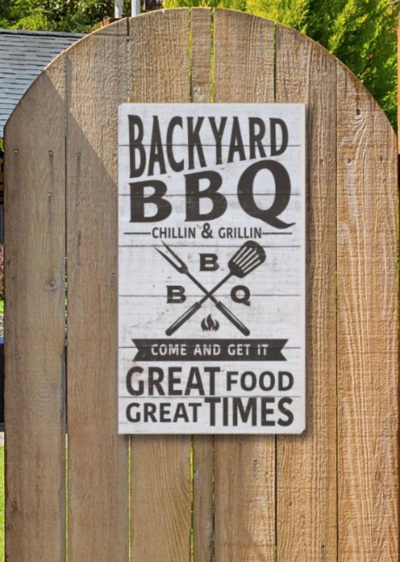 "Kindred Hearts 11""x20"" Backyard Sign"
