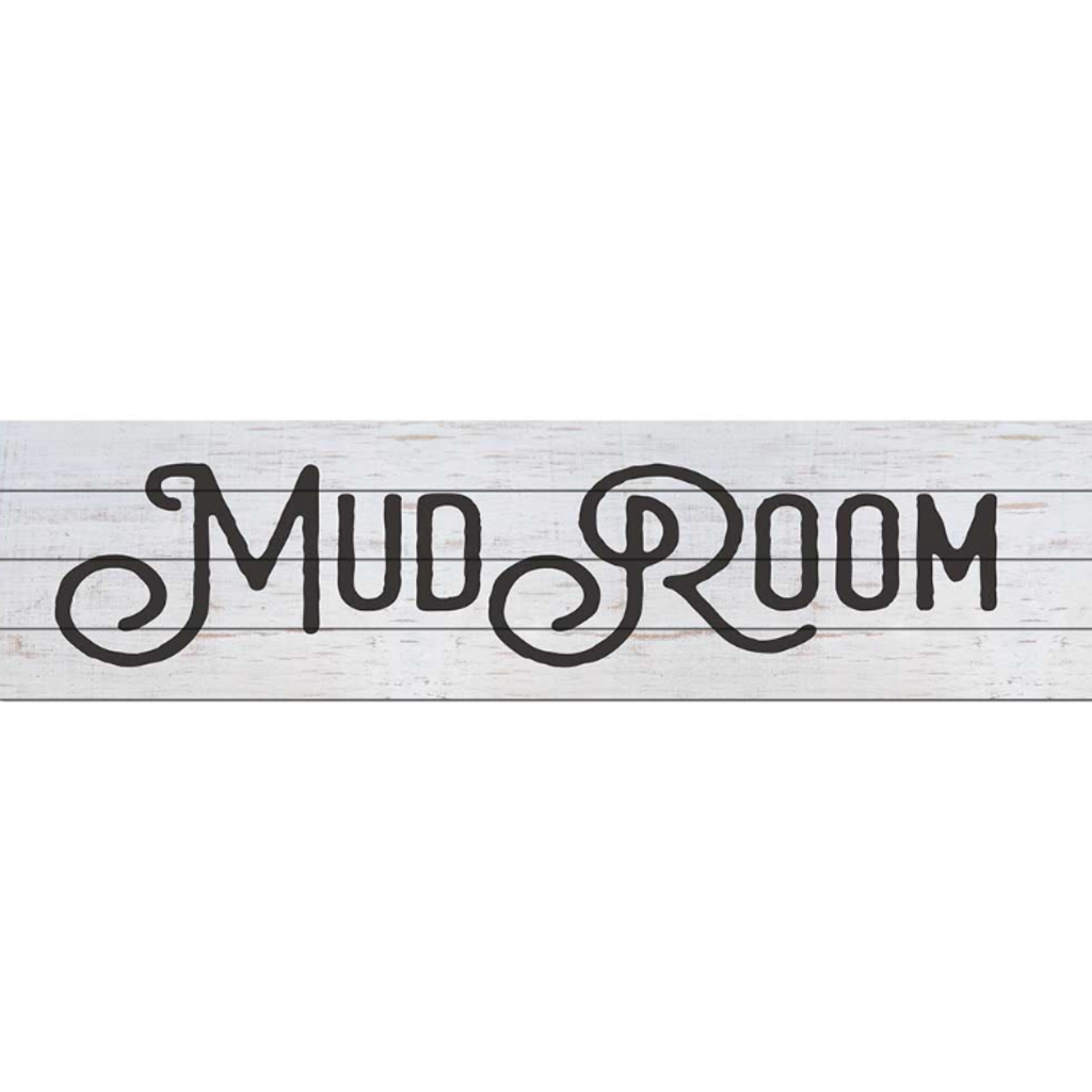"""Kindred Hearts 40""""x10"""" Mud Room Sign"""
