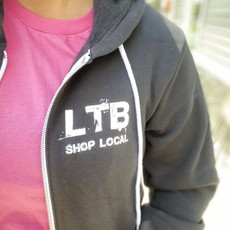 LTB Black LTB Zip Up Hoodie (S-2XL)