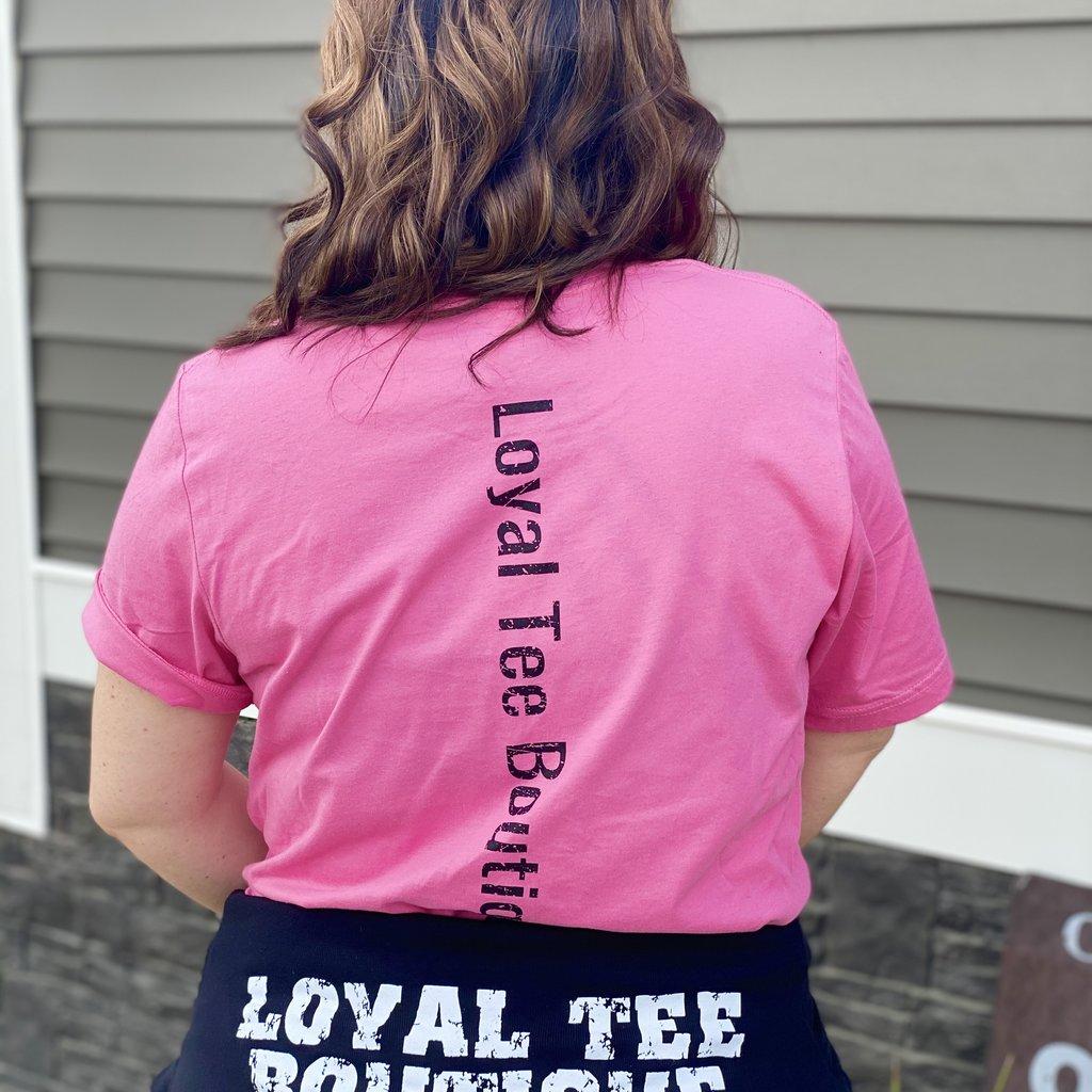 LTB Pink & Black  LTB Loyal Tee (XS-3XL)