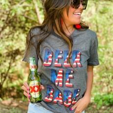 Bella Canvas Beer Me USA Tee (S-2XL)