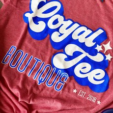 Bella Canvas USA Loyal Tee Boutique Tee (Adult & Youth)