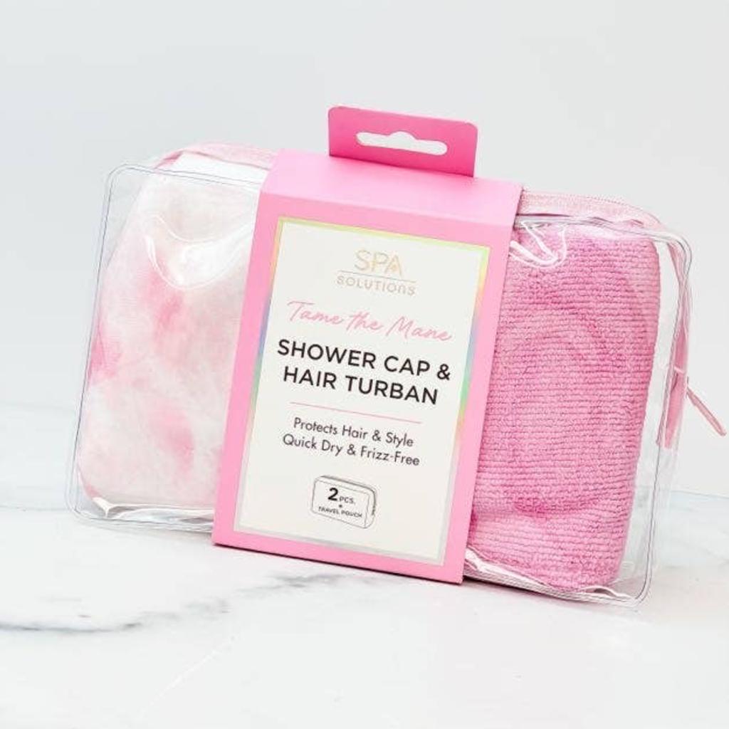 Prep Obsessed Tame the Mane Shower Hair Set