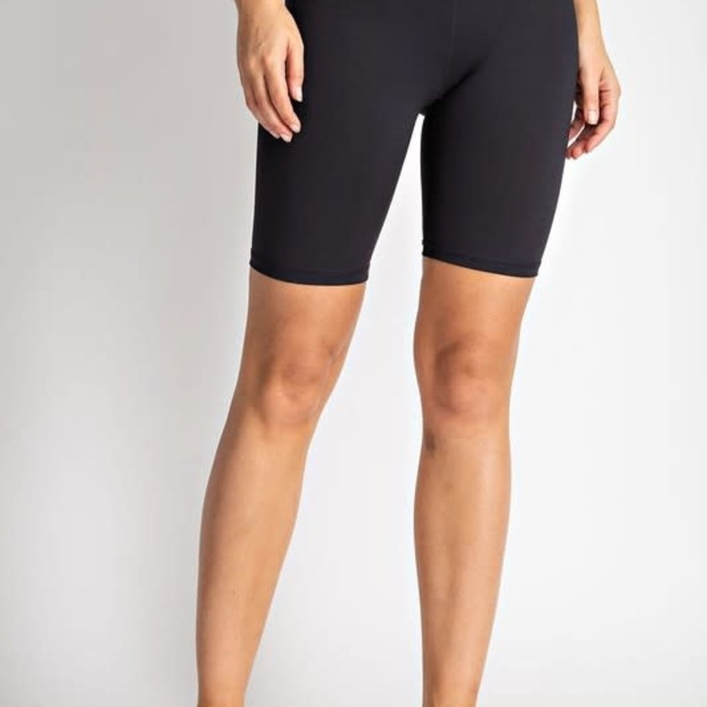Rae Mode Athletic Black Biker Shorts (S, M & 3XL)
