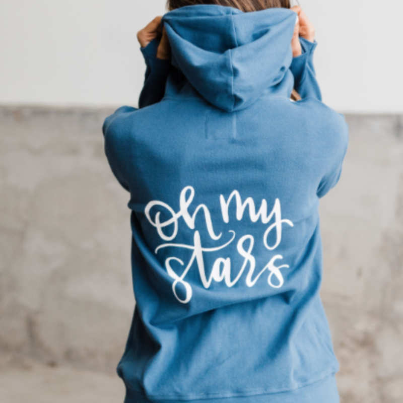 AMPERSAND AVE Oh My Stars Full Zip Ampersand Ave Hoodie (S-3XL)