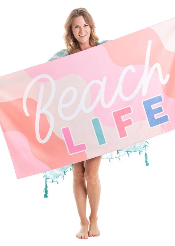 Katydid Fun Quick Dry Beach Towels