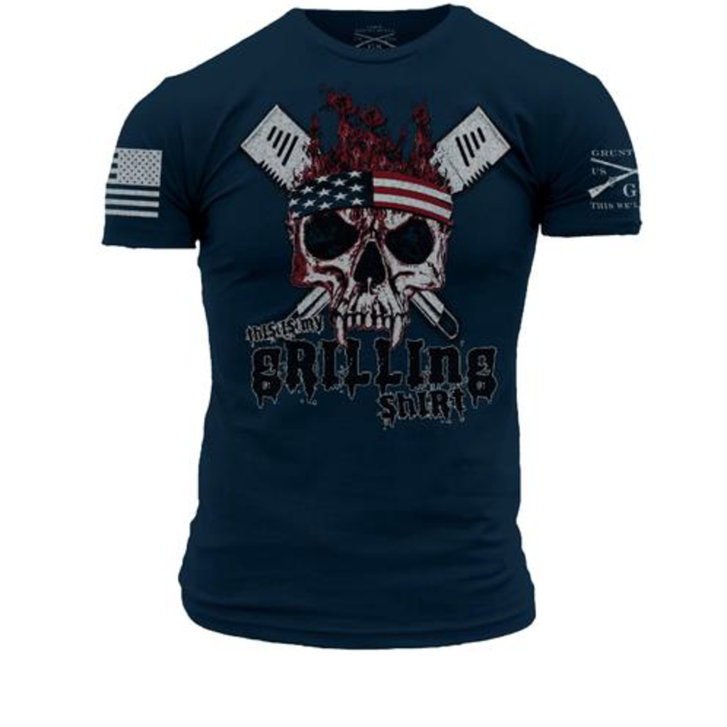 Grunt Style Grunt Style This is My Grilling Shirt Tee (M-4XL)