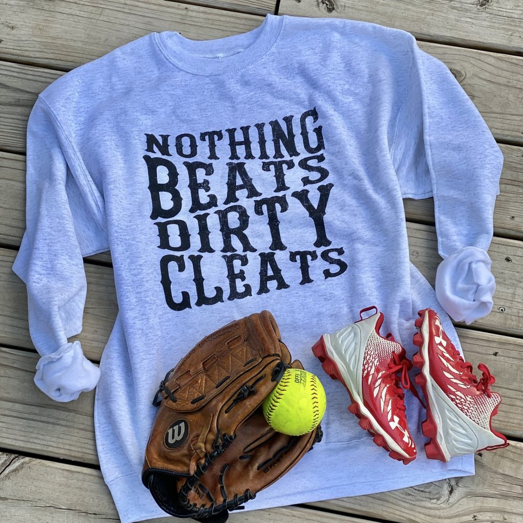 Hanes Nothing Beats Dirty Cleats Crew (S-2XL)