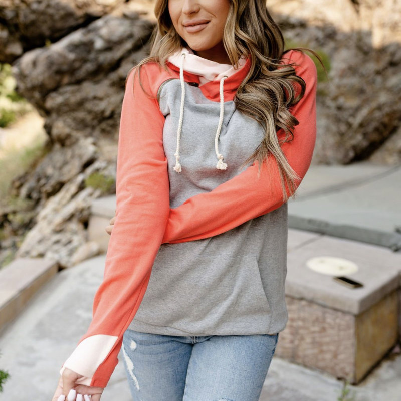 AMPERSAND AVE Like A Dream Ampersand Ave Doublehood (XS-3XL)