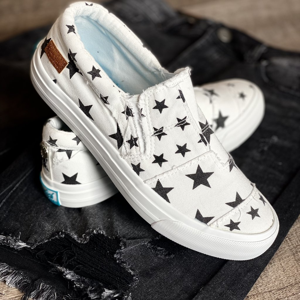 Blowfish Blowfish Off White Galaxy Maddox Shoes (6-10)