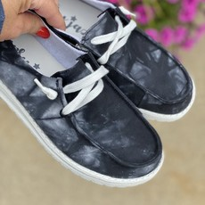 Very G Gypsy Jazz Black Streak Shoes (6-11)