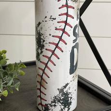 CMD Rub Dirt On It Baseball 20oz Tumbler