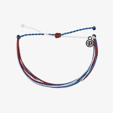 Puravida Pura Vida Red White Blue Bracelet