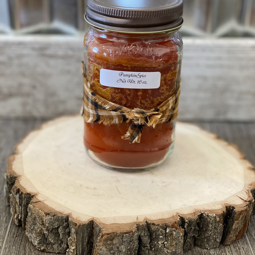 Audrey's Farmhouse Candle - Pumpkin Spice