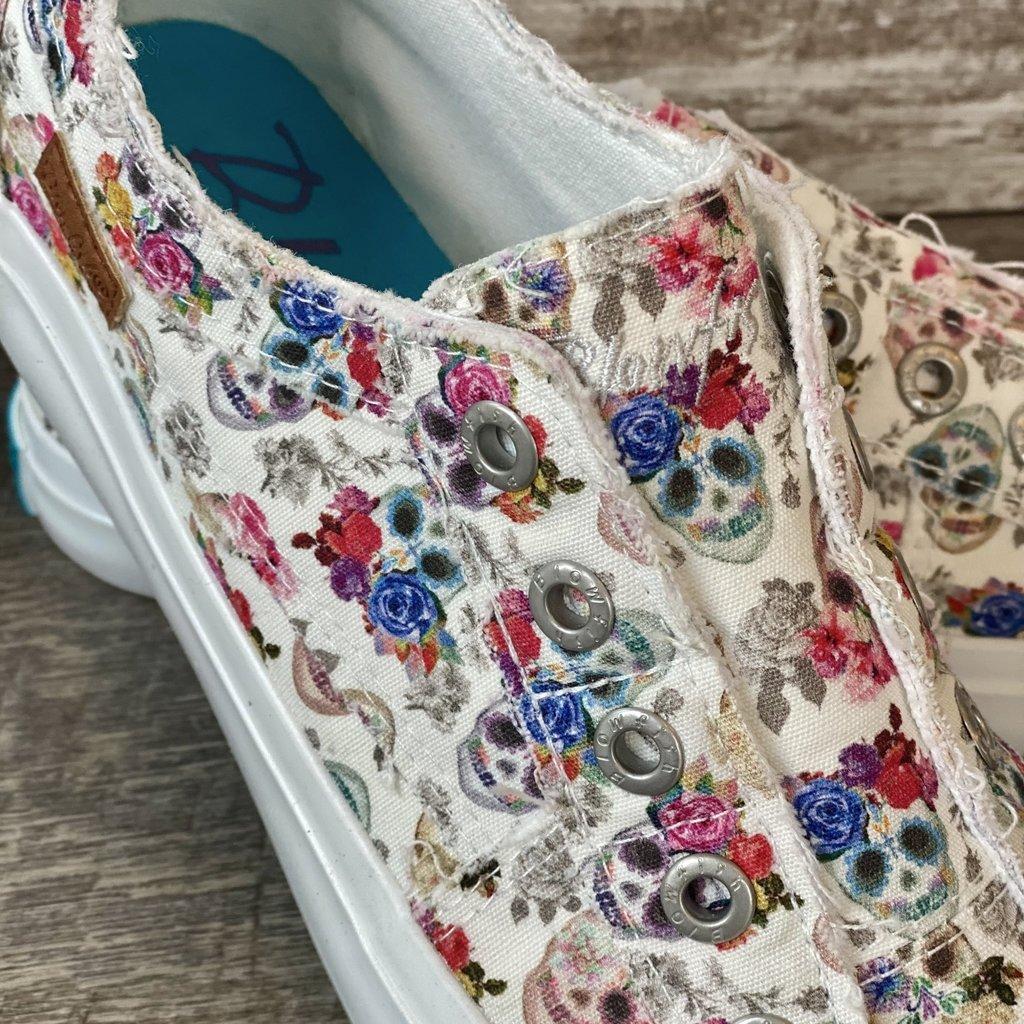 Blowfish Blowfish Off White Sugar Skull Shoes (6-11)