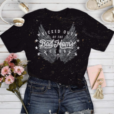 Southern Bliss Co Kicked Out of the Bad Moms Club Tee (2XL & 3XL Only)