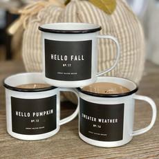 Sweet Water Decor Fall Mug Soy Candles