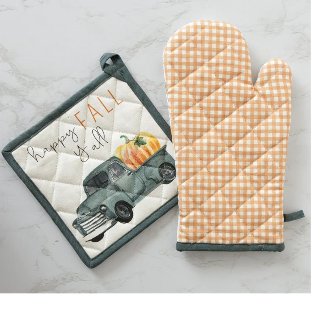 Audrey's Pick of the Patch Oven Mitt and Pot Holder