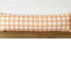 Audrey's Orange Buffalo Plaid Lumbar Pillow