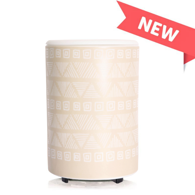 Happy Wax Happy Wax Tan Pottery Mod Wax Warmer