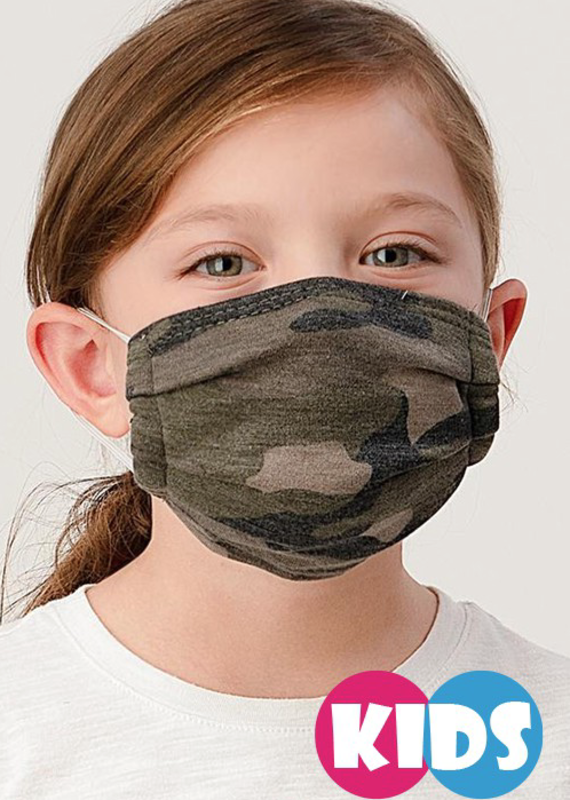 Clothing of America Kids Camo Masks (5 Colors)