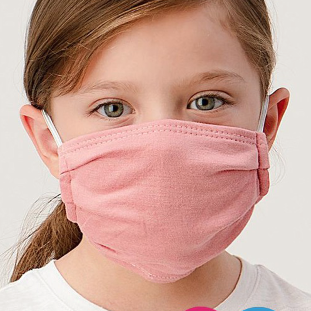 Clothing of America Kids Solid Masks (4 Colors)