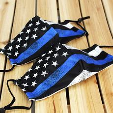 Clothing of America Kids & Adult Thin Blue Line Adjustable Masks